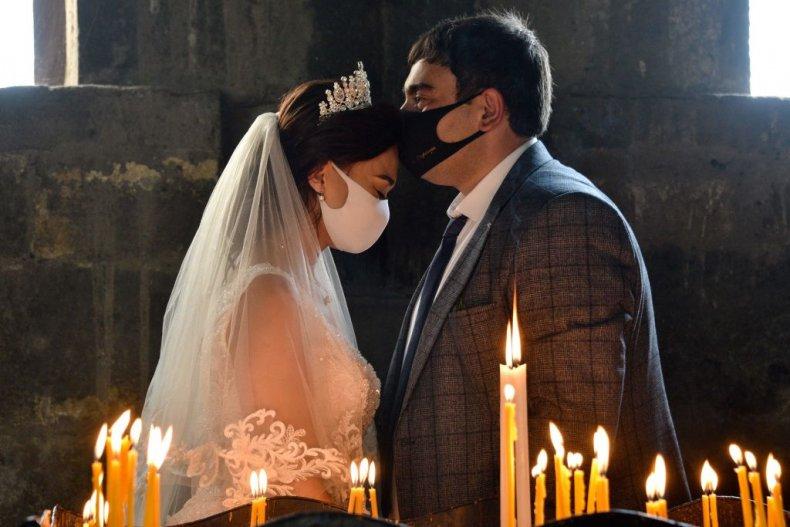 Wedding during coronavirus pandemic