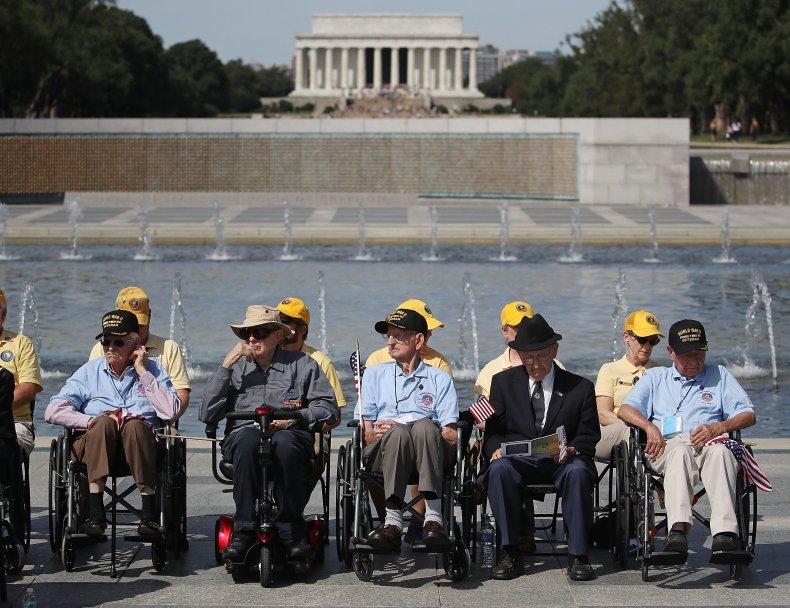 V-J Day at World War II Memorial