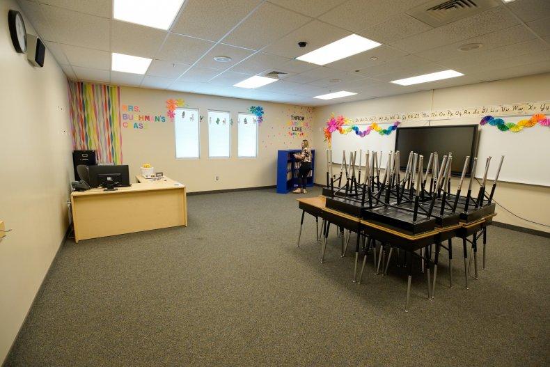 florida school reopening covid classroom