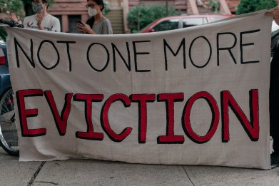 Eviction Protest