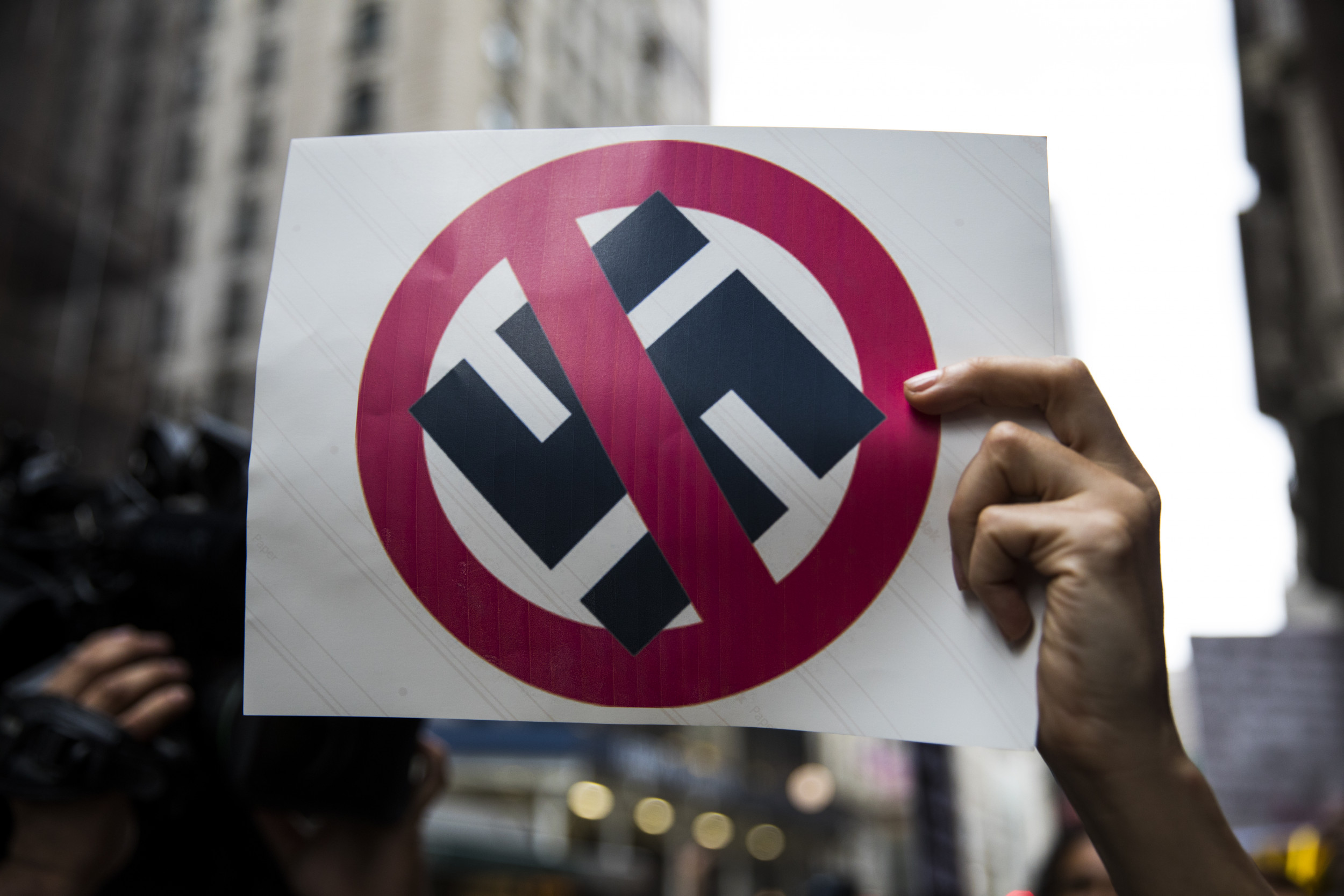 'Nazi political applications' are being handed out in Indiana