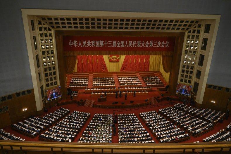 National People's Congress in Beijing in May