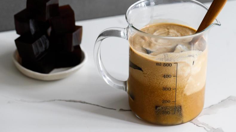 Newsweek Amplify - Layered Keto Coffee Jelly