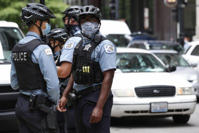 chicago police shooting looting rioting