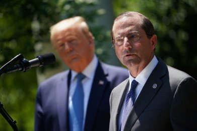 alex azar donald trump covid-19