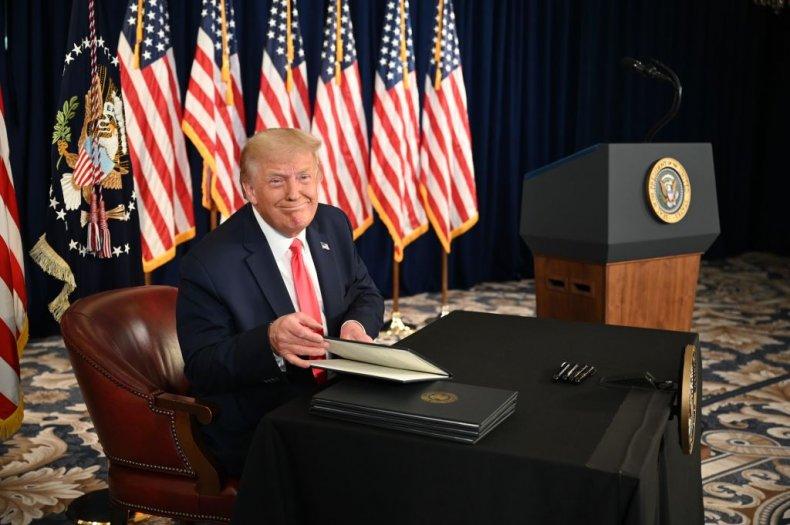 Donald Trump Coronavirus Executive Orders