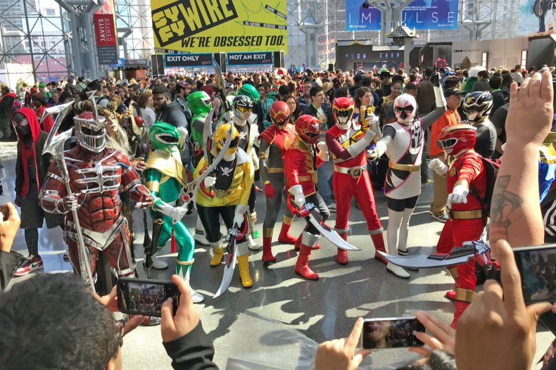 Power Rangers Unite at NYCC 2019