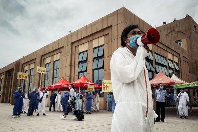 Xinjiang during coronavirus