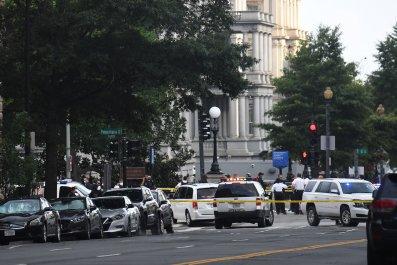 white house, shooting