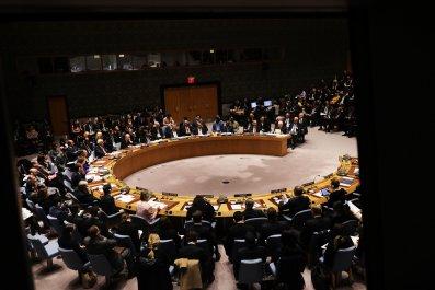 Meeting of U.N. Security Council