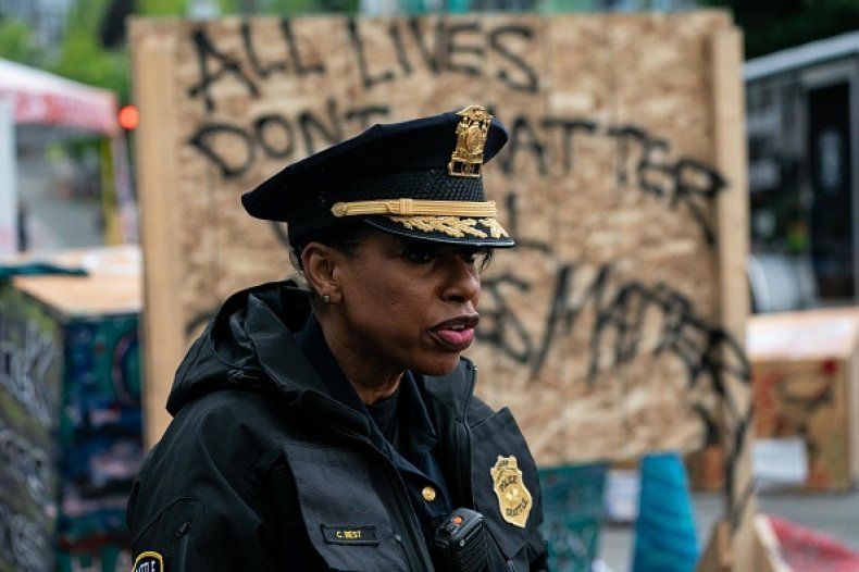 Seattle Police Chief Carmen Best