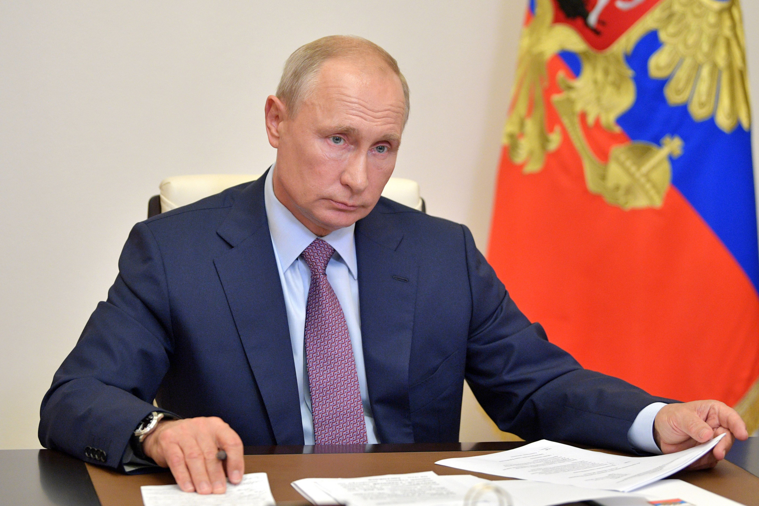 Putin Says His Daughter Had Russia's Newly Approved Covid-19 Vaccine