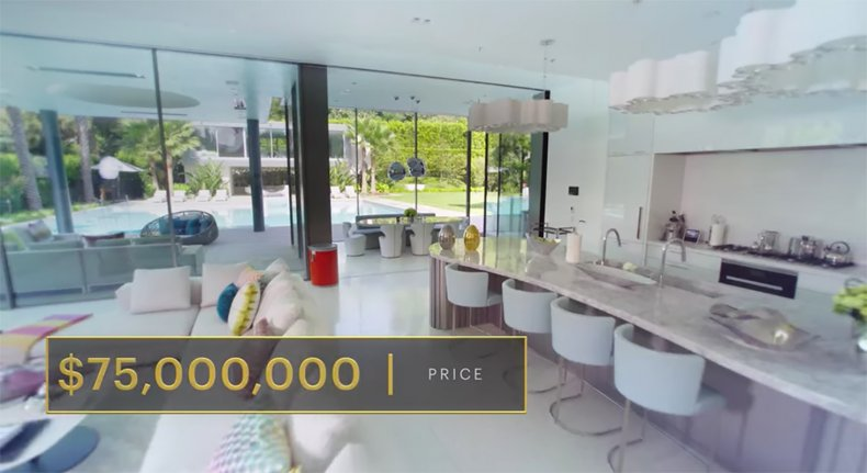 selling sunset 75 million house