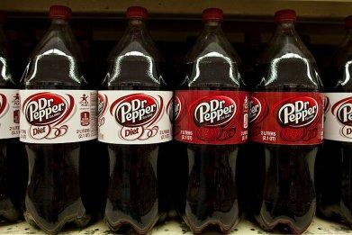 Bottles Dr Pepper