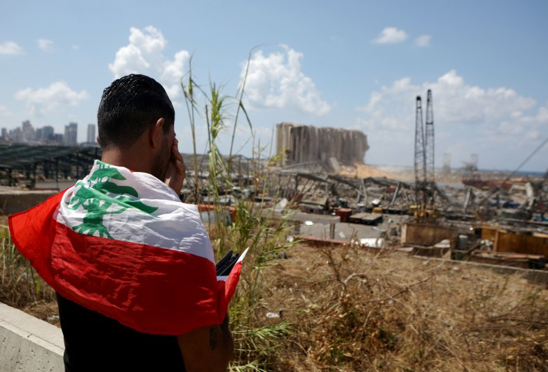 Beirut, Lebanon, port, explosion, NGOs, aid, international