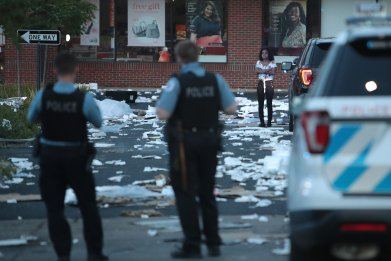 Looting in Chicago