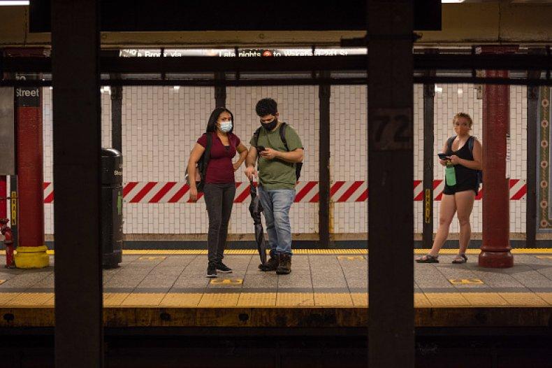 MTA Subway Mask