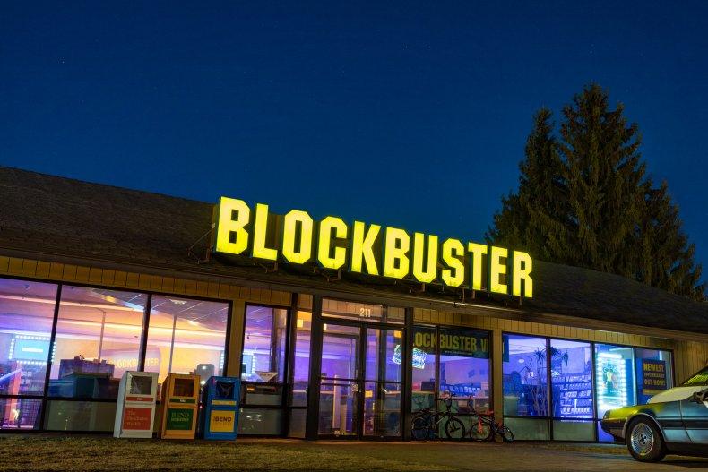 Blockbuster Exterior
