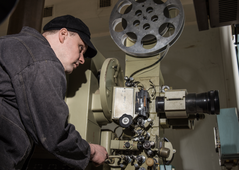 #56. Motion picture projectionists