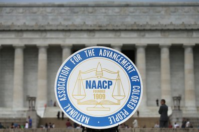 NAACP logo in Washington, D.C.