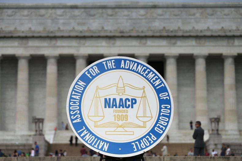 NAACP logo in Washington, D.C.