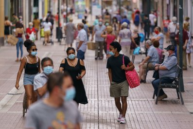 Northern Spain, coronavirus, masks, August 2020