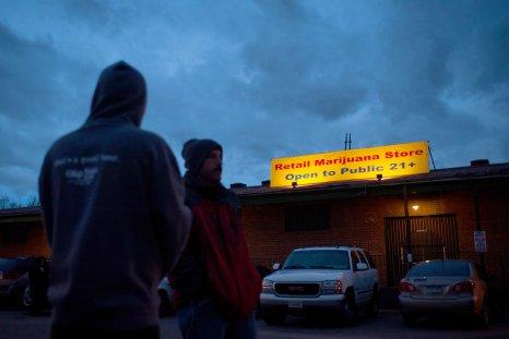Marijuana dispensary in Denver in 2014