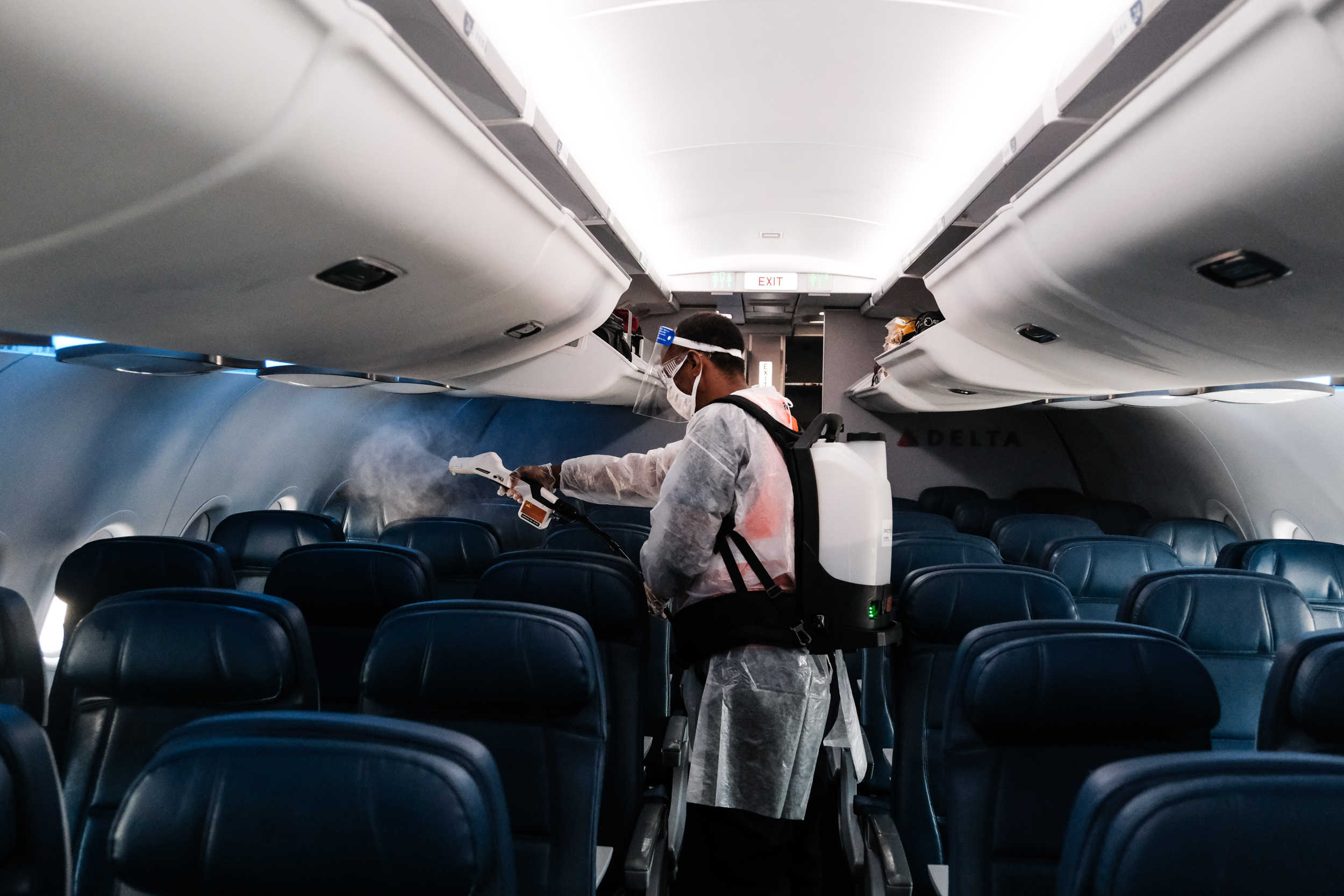 How likely is it to contract COVID-19 on a plane?