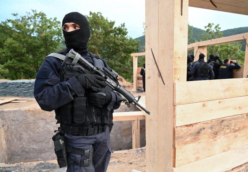 georgia, police, south, ossetia, border