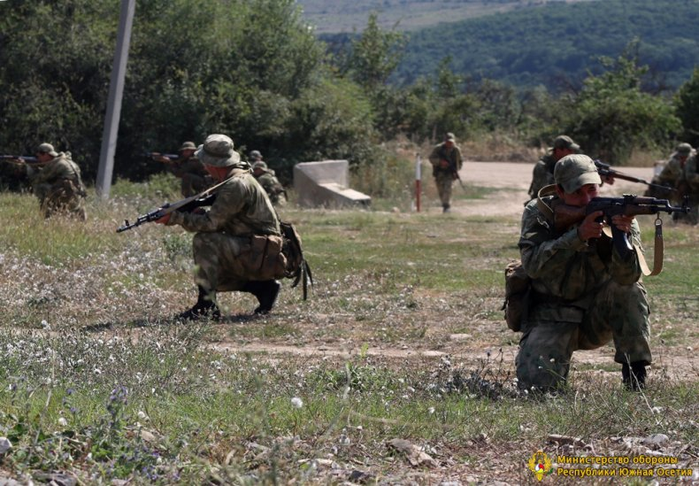 south, ossetia, special, forces, training