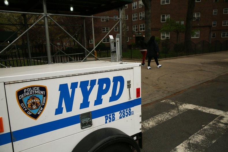 Bronx police teenage boy on fire