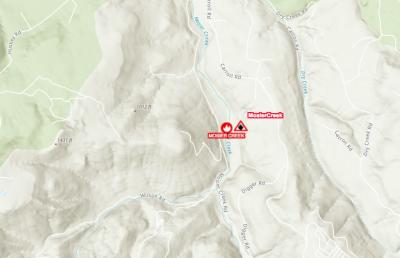 Mosier Wildfire Map
