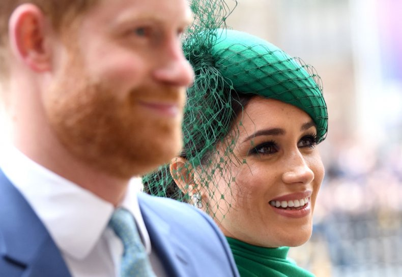 Meghan Markle Prince Harry Commonwealth Day Service