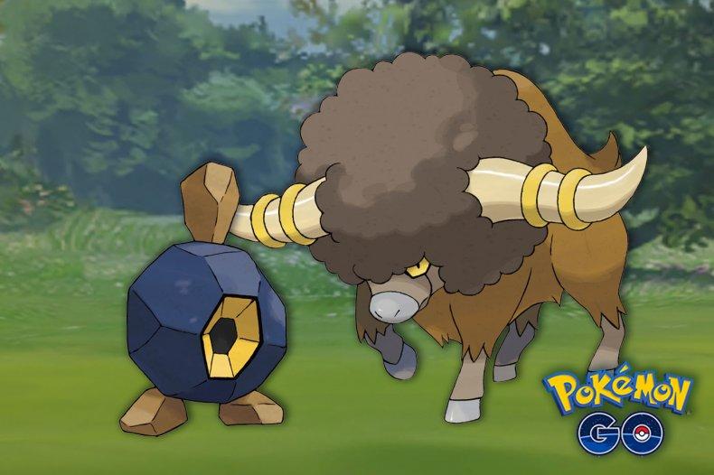 pokemon go unova week bouffalant roggenrola