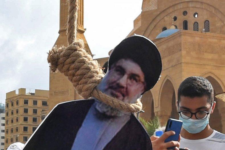 Beirut, Lebanon, Hezbollah, Hassan Nasrallah, protests, unrest