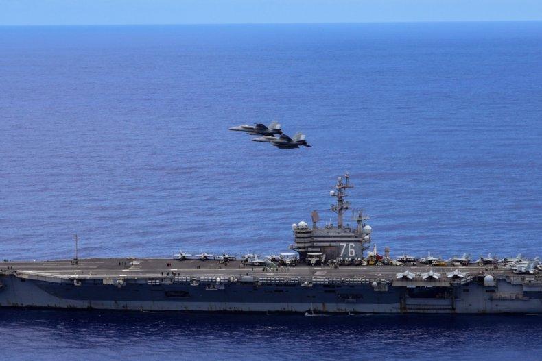 us, navy, ronald, reagan, east, china, sea