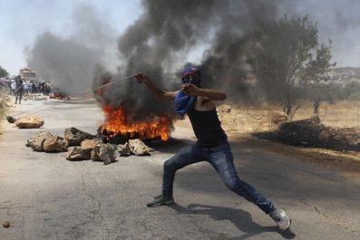 palestine, protest, west, bank, israel