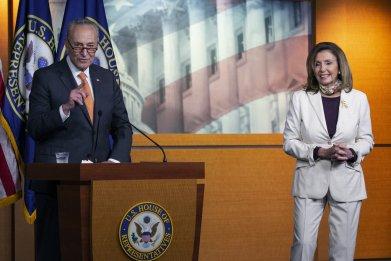 House Speaker Nancy Pelosi and