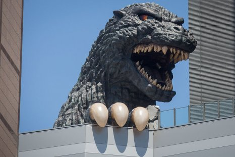 Godzilla model in Japan