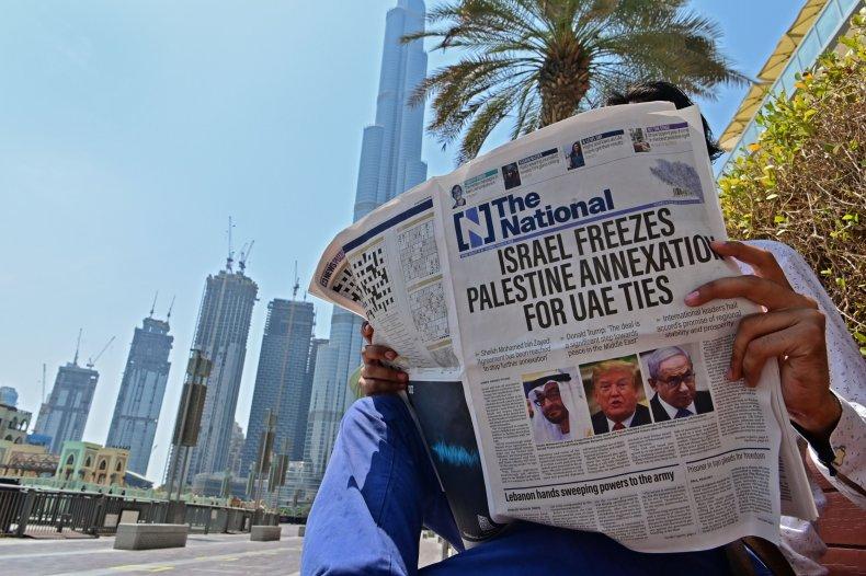 Israel, UAE, Gulf, Oman, Bahrain, Palestine, ties