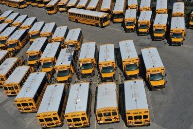 School bus California