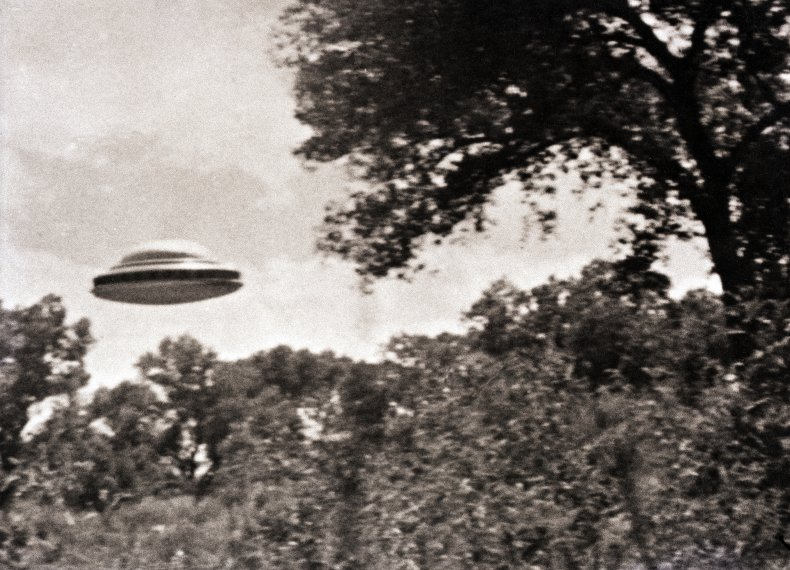 Getty Images UFO Low