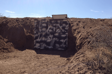 underground bunker, bunkers