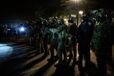 federal, troops, portland, oregon, DHS
