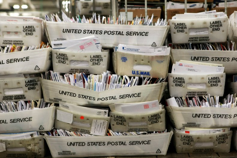 U.S. Postal Service collection boxes