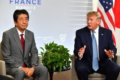 President Donald Trump and Prime Minister