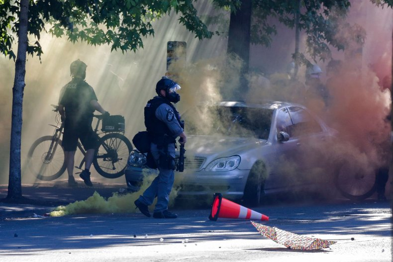 Seattle police less lethal munitions reports