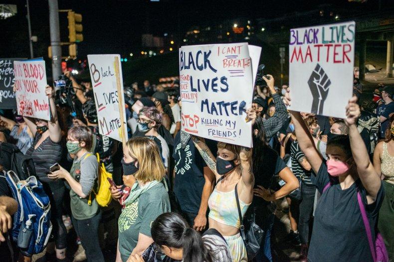Austin, TX, protest