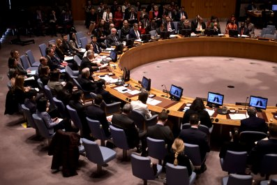 UN Security Council meeting in February