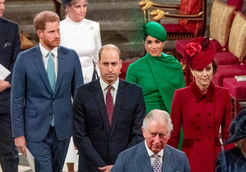 Prince Harry, Meghan Markle, Prince William, Kate